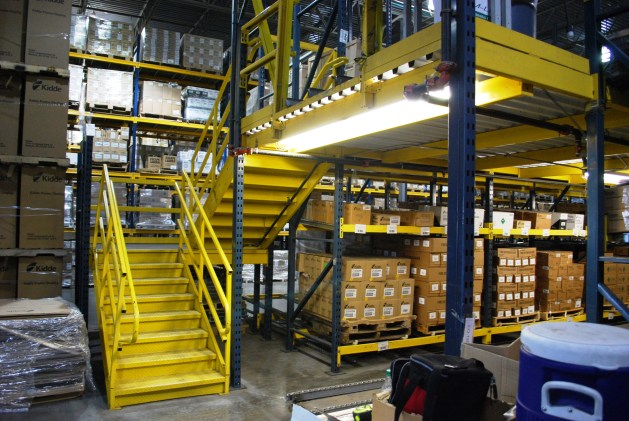 2 Level Rack Supported Mezzanine (3)