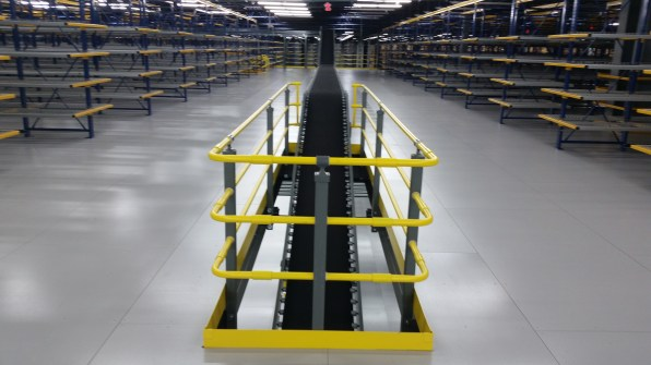 Conveyor Through Floor