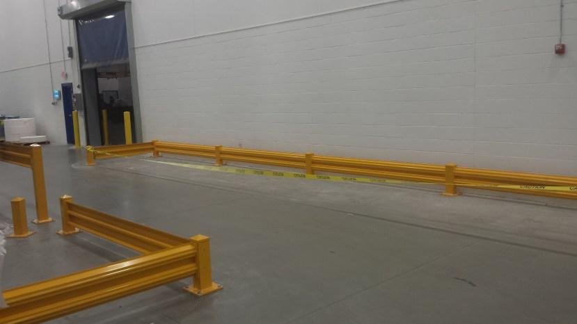 Forklift Aisle Guarding