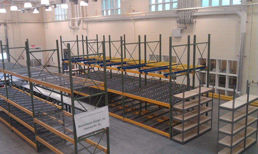 GTCC Global Logistics Training Warehouse