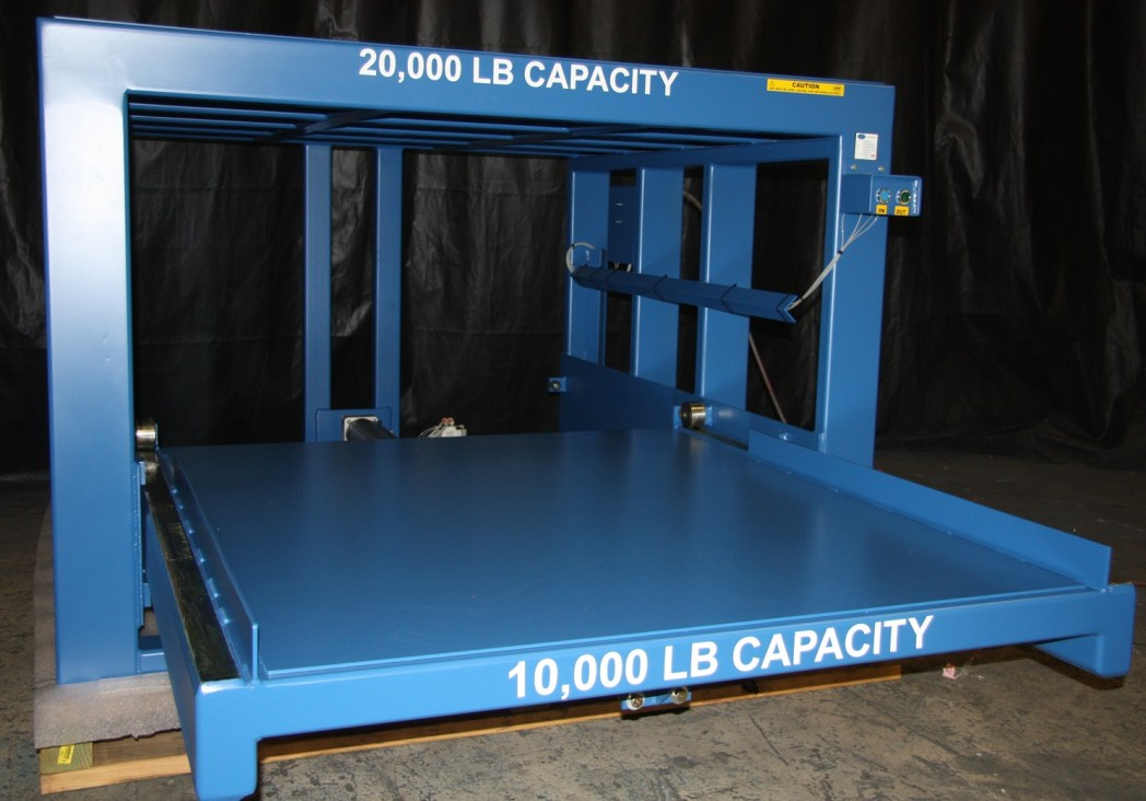 Heavy Duty Pneumatic Roll-Out Shelf