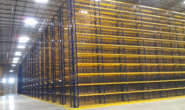 High Bay Case Storage