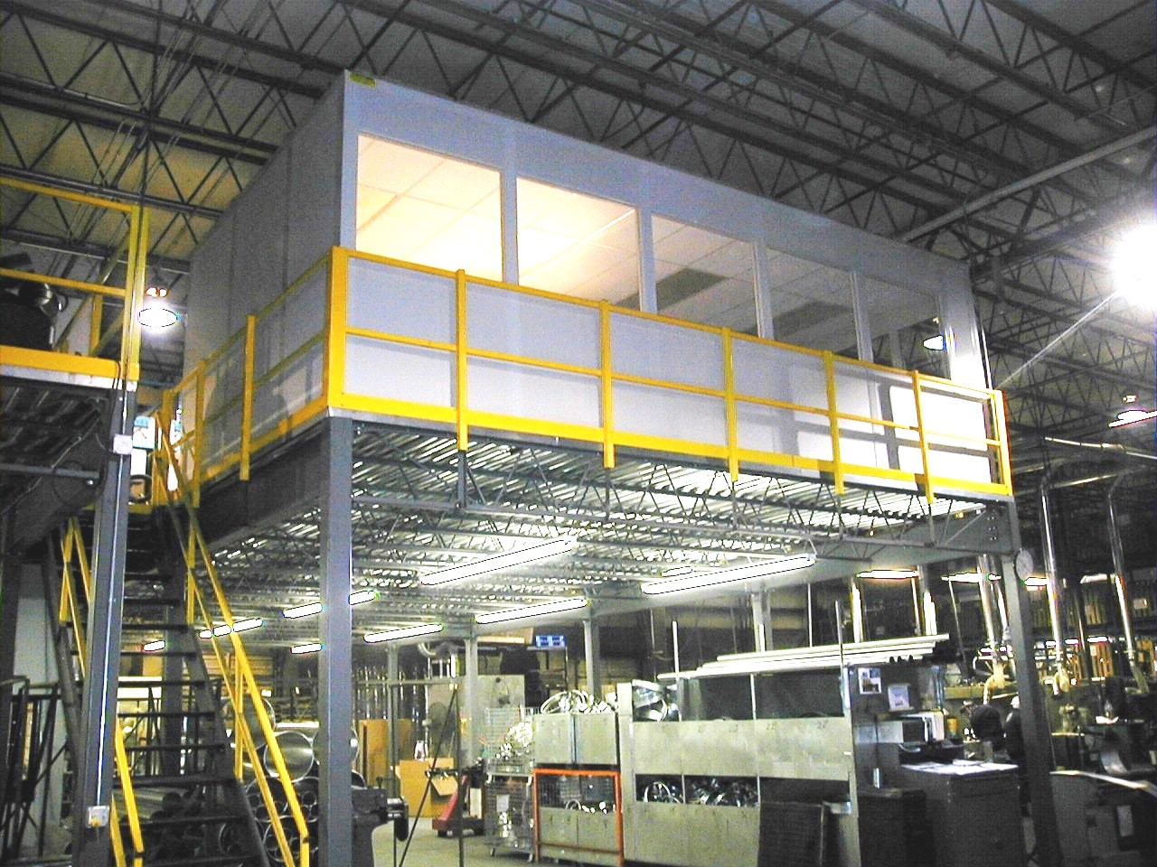 Modular offices warehouse design for Warehouse plans designs