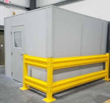 Modular Office with Safety Guarding