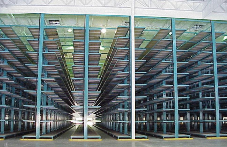 Narrow Aisle Furniture Cantilever Rack