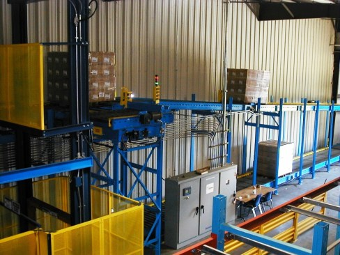 Over and Under Pallet Conveyor