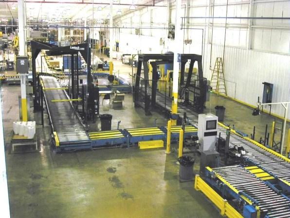Pallet Conveyor Shrink Wrap