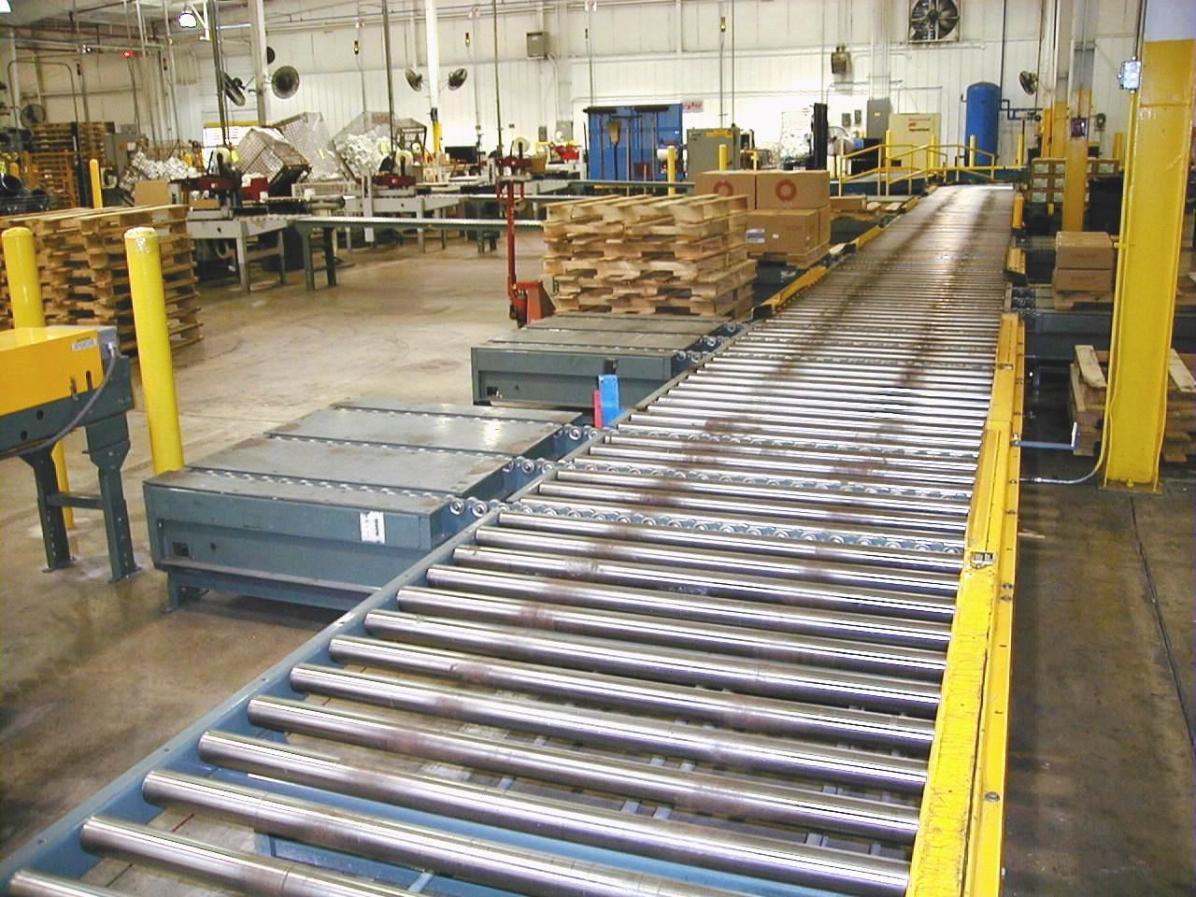 Pallet Conveyor load stations