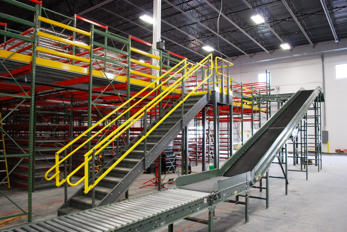 Pick Module Conveyor Access