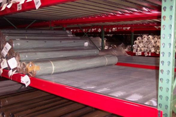 Roll Storage Rack Deck