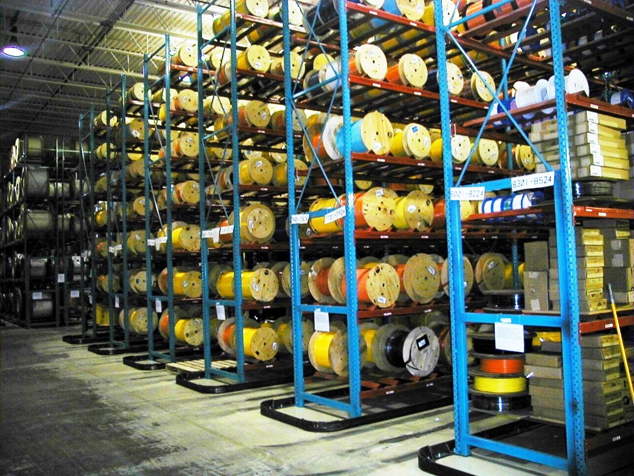 Reel Cable Ring Storage Warehouse Design