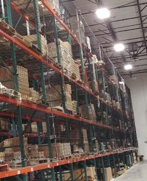 Storage Rack Safety Netting