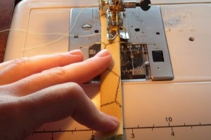 Sew loop