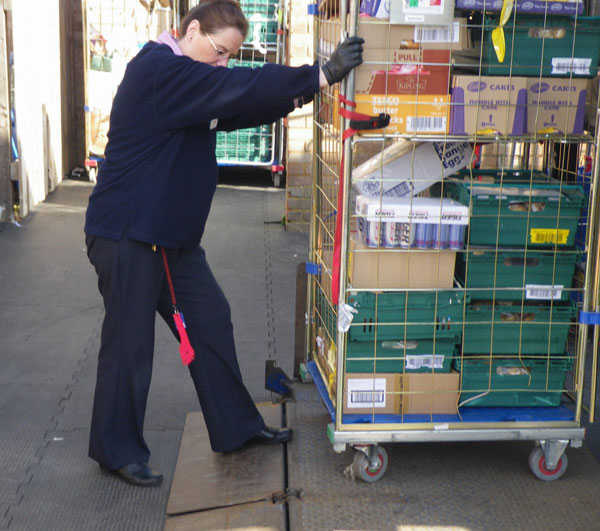 IMPACTAFLOOR – Delivery noise reduction | Warehouse