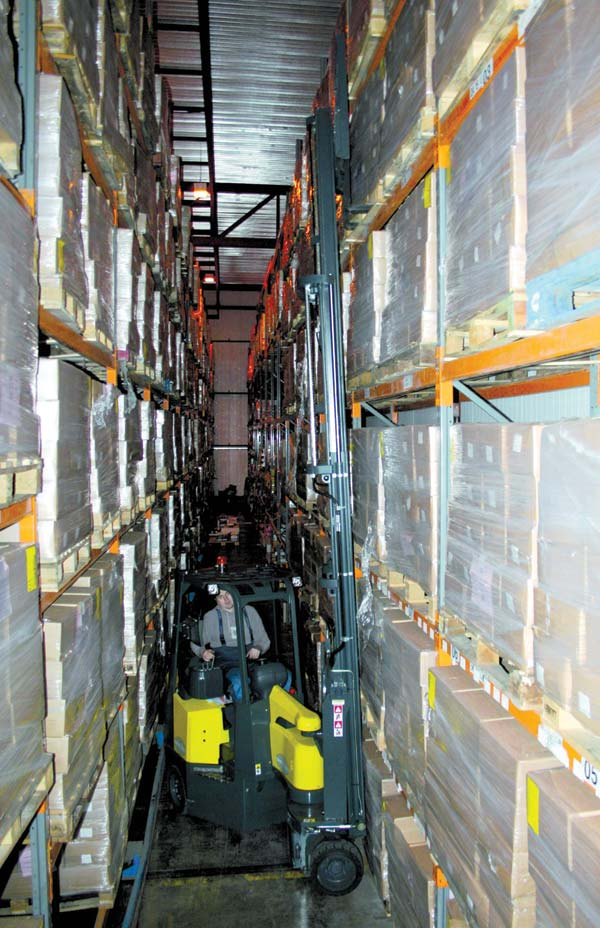 Aisle- Master is degrees better for Castlecool | Warehouse