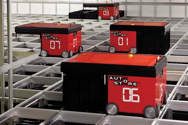 Swisslog Launches Autostore At Antalis Warehouse Logistics News