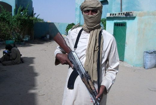 AQIM Touareg with AK47 (Magharebia, 2012)[768]