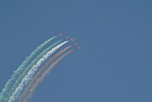Display Team at Aero India 2009 by Subharnab (CC3)