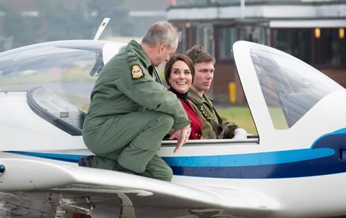 RAF - Duchess of Cambridge visits Air Cadets, RAF Wittering (MOD, OGL)