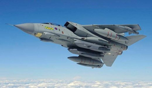 RAF Tornado GR4 with Storm Shadow Missiles (Crown Copyright, OGL)