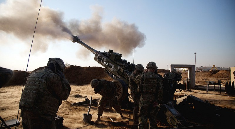 Strikes Engage ISIS Artillery Near Mosul – Warfare Today