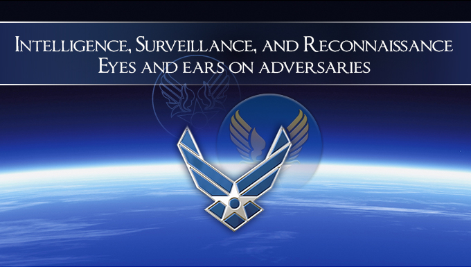 ISR - US Air Force graphic