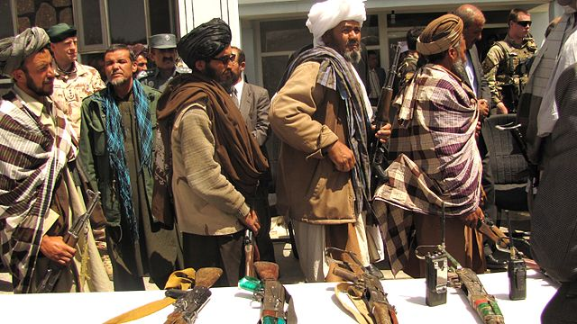 Taliban, Afghanistan, surrender arms to Gov of the Islamic Rep of Afghanistan, by Joe Painter, ISAF Media, 28 May 2012 [640px]