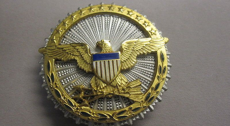 US Military Insignia badge of the Office of the Secretary of Defense, by Naval History and Heritage Command, 1980