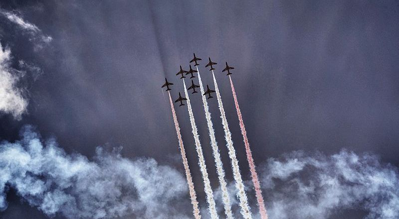 RAF Red Arrows, Bournemouth Air Festival 2013 by Ian Kirk (2013)