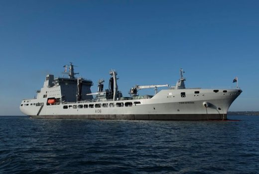 Royal Navy, RFA Tidespring by Jack Eckersley MOD Crown Copyright 2017 DES-2017-115-0773