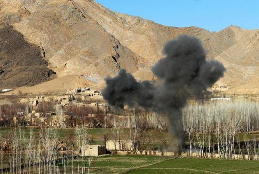 US Army Task Force Spartan, 10th Mountain Div, 3rd Brig Special Troops Batt, A Company, IED detonated by Explosive Ordnance Disposal team, Bagram Airfield, Afghanistan, 10 Mar 2009