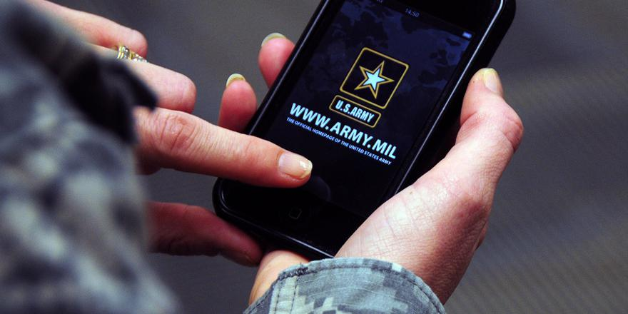 US Army official app, 2010 [880x440]
