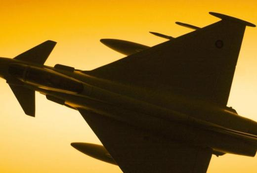 RAF Typhoon by SAC Graham Taylor (Crown Copyright, 2004)