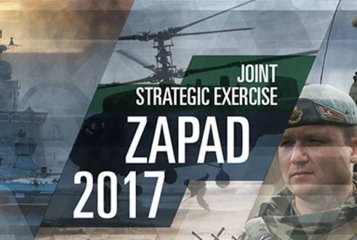 Russia, Ministry of Defence of the Russian Federation, Zapad 2017