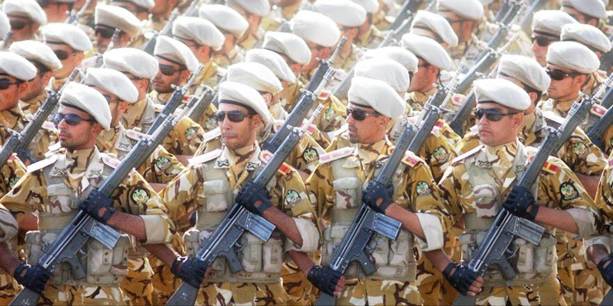 Iran, Islamic Republic of Iran Army, Sacred Defence Week Parade (Reza Dehshiri, CC2, 2011)