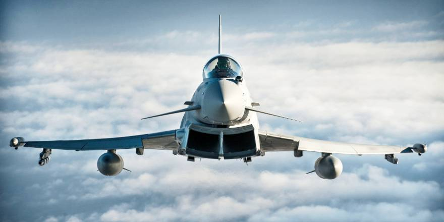 Op SHADER, RAF Typhoon, 1(F) Squadron (Crown Copyright, 2013)