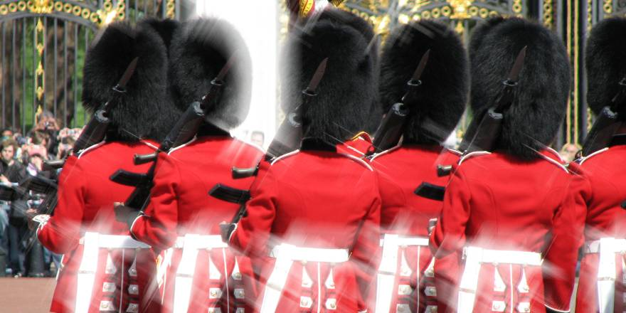 British Army, The Queens Guard, Changing of the Guard, Buckingham Palace, 2008