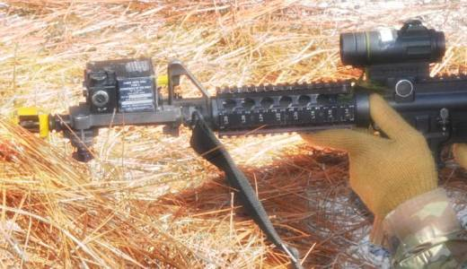 US Army 39th Infantry Regiment training with MILES laser system (US Army, 2018)