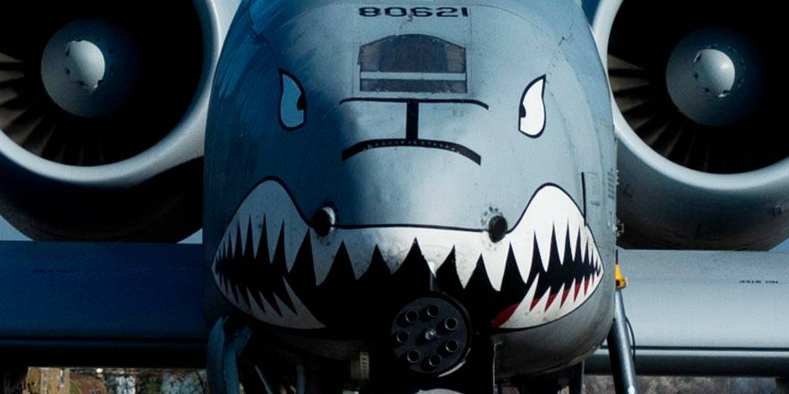 USAF, 74th Expeditionary Fighter Squadron flying A-10s against ISIS, Operation Inherent Resolve