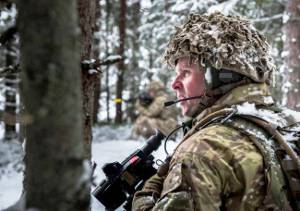 British Army, 1st Battalion Royal Welsh on Op CABRIT in Estonia for NATO Enhanced Forward Presence (Crown Copyright, 2018)