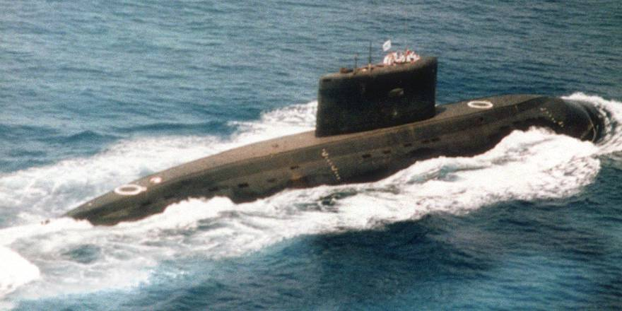 Iranian Navy Russian-built Kilo class attack submarine (USA, nd)