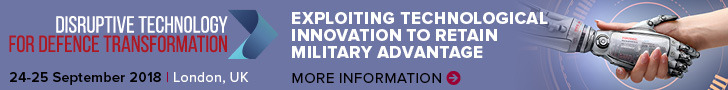 Disruptive Technology for Defence Transformation, London, 24-25 September 2018