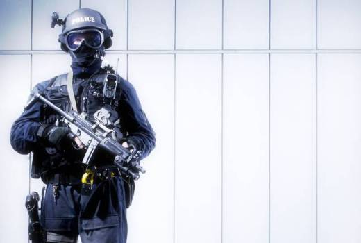 British Police Firearms Officer Project Servator (CC2, 2012)