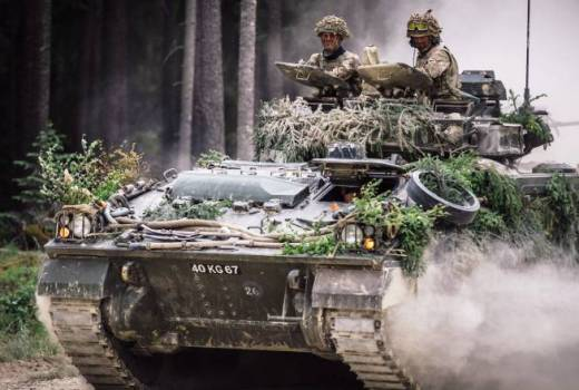 British Army Royal Welsh Regiment, 1st Battalion (1 R WELSH), on Ex SABER STRIKE 2018 (Crown Copyright, 2018)