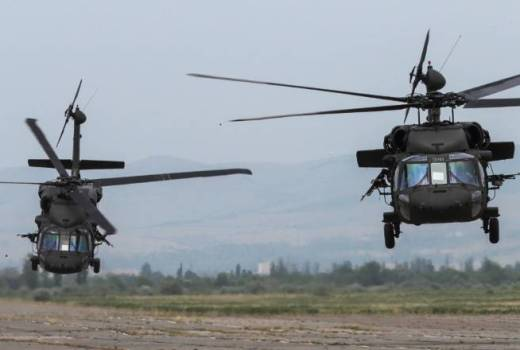 US Army National Guard UH-60 Black Hawks, 1st Battalion, 171st Aviation Regiment, on Noble Partner 18 (DVIDS) [880]