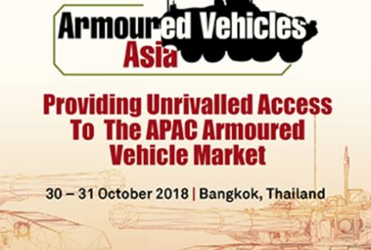 Armoured Vehicles Asia, 30-31 October, Bangkok, Thailand