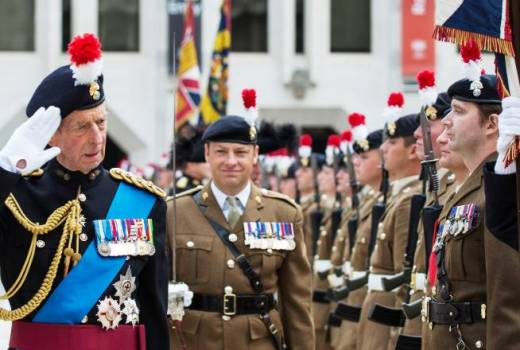 British Army Royal Regiment of Fusiliers celebrates 50 years London (Crown Copyright, 2018) [880]