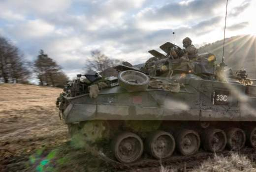 British Army 1st Battalion Princess of Wales Royal Regiment on NATO Exercise Allied Spirit 8 in Germany (Crown Copyright, 2018)