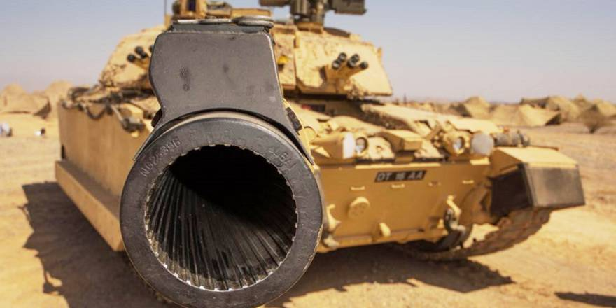British Army, Challenger 2 in Exercise SAIF SAREEA in Oman (crown Copyright, 2018) [880]