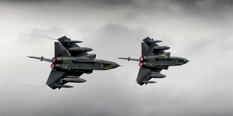 RAF Continues Missions Over Iraq